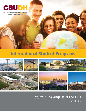 2018-2019 CSUDH International Student Programs Brochure