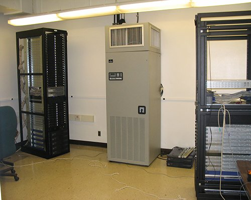 Our 100 node parallel computing Facility.